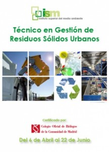 Curso: Técnico gestión de residuos sólidos urbanos