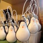 bombillas pintadas