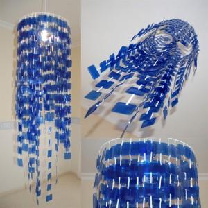 lampara de botellas