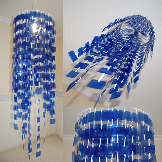 Envases ligeros rec clame - Lamparas de techo hechas en casa ...