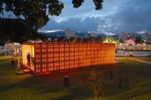 pallet house de 60 metros cuadrados y 800 palets