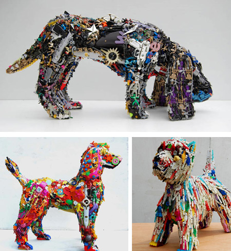Art Made From Recycled Items