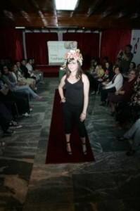 Desfile de moda reciclada en Bande