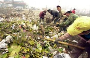 basura en china