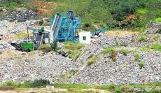 Estado en que se encuentran las instalaciones de El Chaparral en estos momentos.