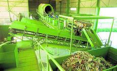 Centro de Tratamiento de basura en Bollullos de la Mitacion, en Sevilla.