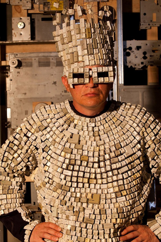 Computer Keyboard Costume