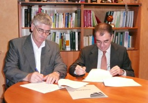 Santiago Fernandez a la izq e Ignacio Duque a la dcha