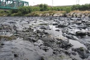 contaminacion rio francoli