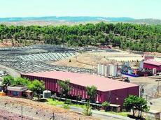 Vista general de las instalaciones del vertedero de Nerva que gestiona la empresa Befesa.
