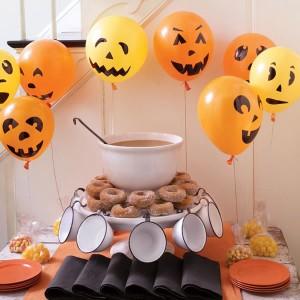 globos de halloween