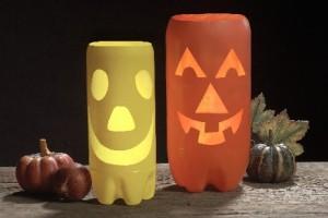 portavelas de halloween