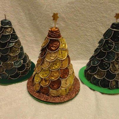 arbol navidad capsulas de cafe