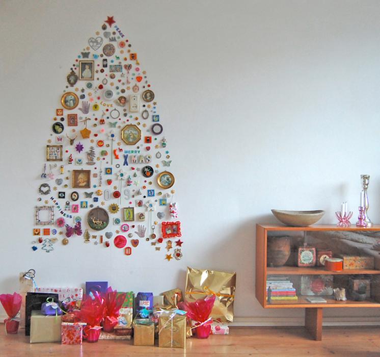 arbol navidad de pared