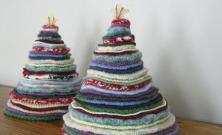 arbol navidad en tela - Arbol De Navidad De Tela